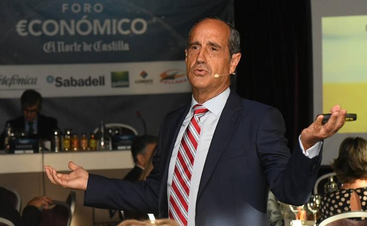 Luis Galindo, en el Foro Económico de El Norte de Castilla