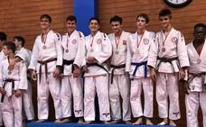El Judo Club Doryoku consigue el primer puesto cadete masculino del Trofeo Peralta madrileño