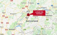 Mueren seis personas en el incendio de un edifico en Suiza