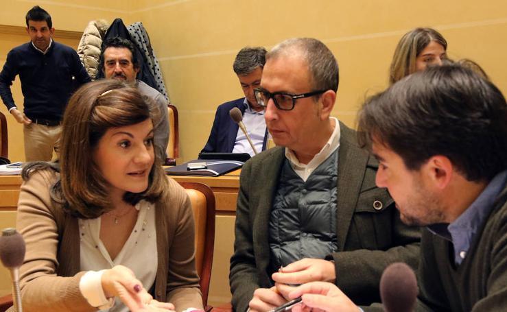 Pleno extraordinario en el Ayuntamiento de Segovia
