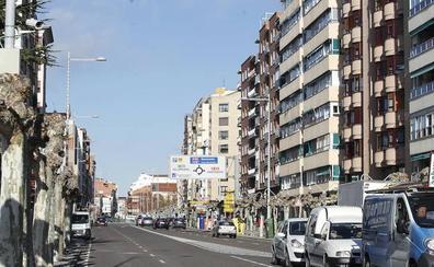 Nuevas bombillas eficientes para la avenida de Valladolid de Palencia
