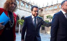 El TSJC rechaza investigar a Pere Aragonès por el 1-O porque no ve indicios de delito