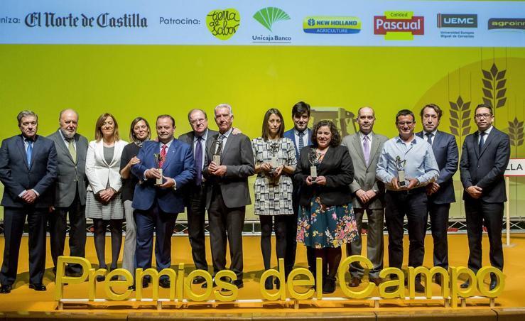 Gala de entrega de los V Premios del Campo de El Norte de Castilla