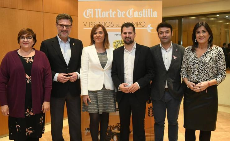 Invitados a la entrega de los V Premios del Campo de El Norte de Castilla