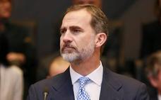 El Constitucional admite a trámite el recurso contra la reprobación del Rey