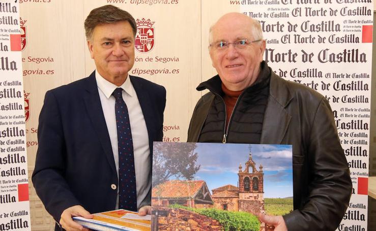 Entrega de premios del concurso fotográfico Pueblos de Segovia organizado por El Norte de Castilla