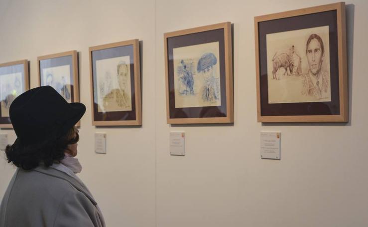 El Miguel Delibes acoge la exposición 'Arte y Nobleza. Trazos de Tauromaquia en Castilla y León'