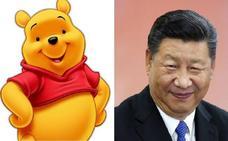 La policía pide al 'Winnie the Pooh' de la Puerta del Sol que no se disfrace para no ofender a Xi Jinping