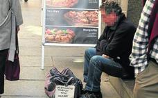 Cáritas atiende desde enero a 139 personas sin hogar, la mayoría de entre 35 y 55 años