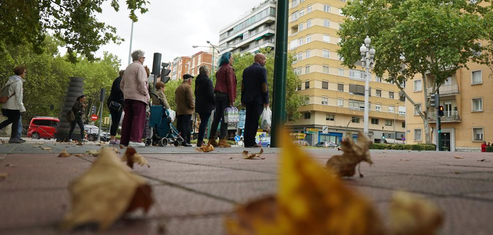 La lluvia remite para dar paso a un soleado fin de semana en Valladolid