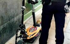 La multa por saltarse la prohibición de circular con patinete es de 500 euros