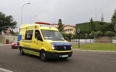 Herido grave un trabajador de 48 años al caer de 6 metros en una obra en Palencia