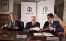 La Diócesis de Ávila firma un convenio con la consejería de Fomento para aumentar las viviendas públicas