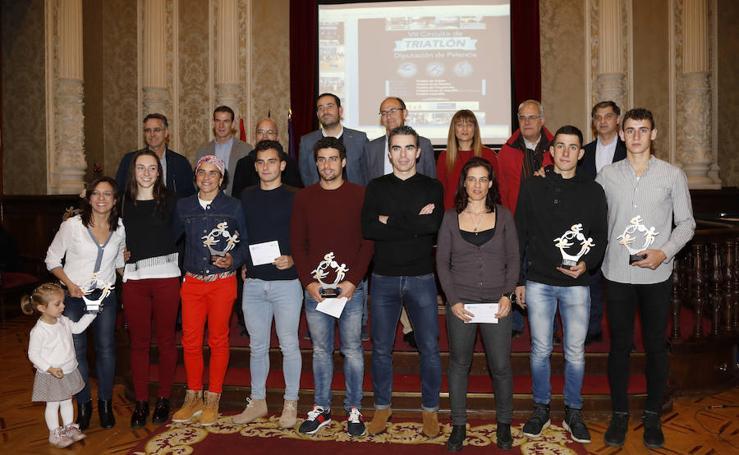 Entrega de premios del circuito provincial de triatlón