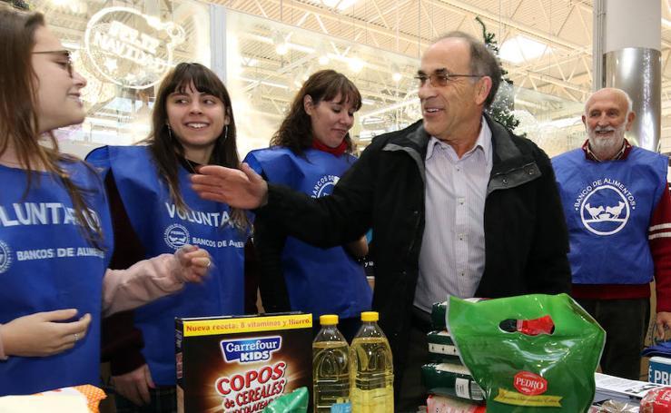 Campaña de recogida para el Banco de Alimentos de Segovia