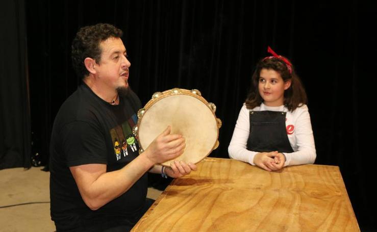 Concierto de música tradicional de Toño Clavel en Baltanás