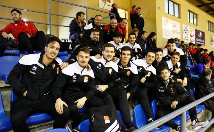 Presentación del primer equipo del BM Salamanca y cantera