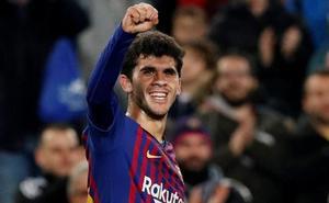 Aleñá: «Marcar en el Camp Nou es un sueño hecho realidad»