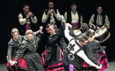 El certamen de danzas del grupo Emperador Teodosio aspira a tener alcance regional
