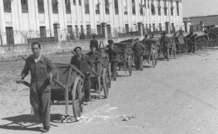 Valladolid siglo XX: el servicio de limpieza