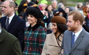 Los Duques de Cambridge y Sussex pasarán juntos la Navidad