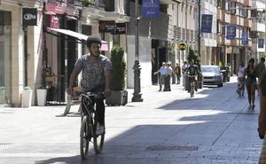 Palencia paraliza la creación de los itinerarios específicos para bicicletas