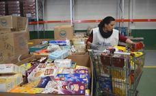 El Banco de Alimentos de Valladolid llena la despensa