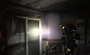Un niño de 12 años avisa a los bomberos de un incendio en una vivienda en Mojados
