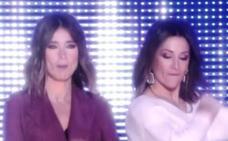 El beso de Sandra Barneda y Nagore Robles en 'El Debate de GH VIP'