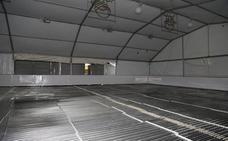 La apertura de la pista de hielo del Salón de Palencia se aplaza de nuevo por una avería