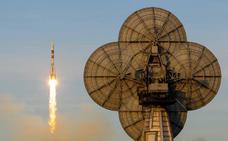 Parten hacia la Estación Espacial tres nuevos astronautas tras el lanzamiento fallido en octubre