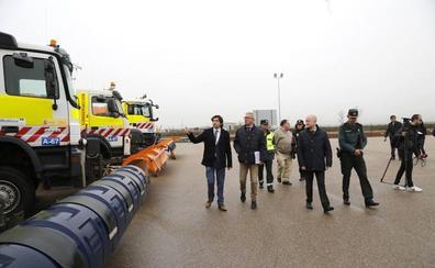 Las carreteras de Palencia, preparadas para las inclemencias del invierno