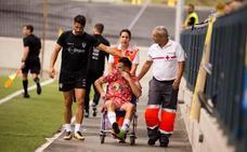 Ayub pasará por el quirófano el martes y dirá adiós a la temporada con el Guijuelo