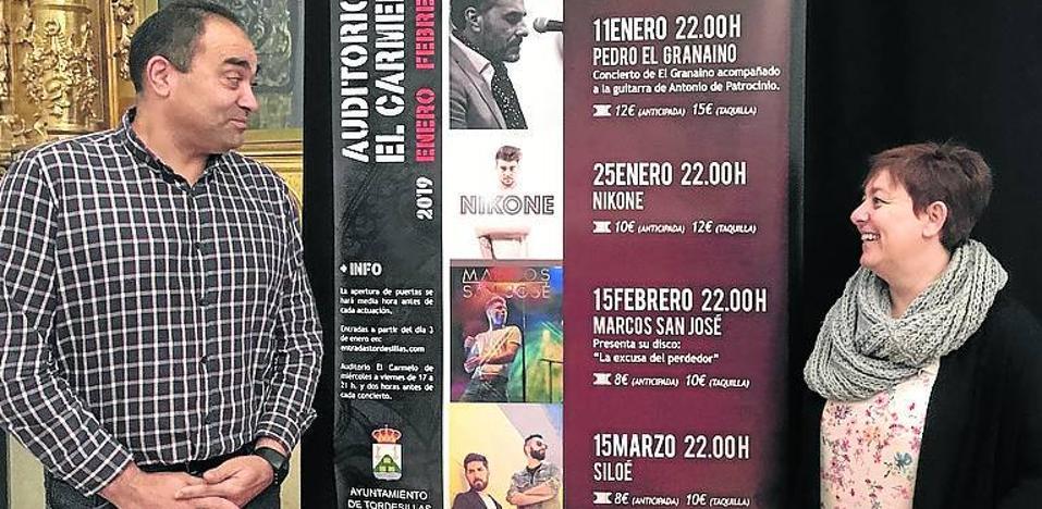 Cinco citas musicales en el primer trimestre del nuevo auditorio del Carmelo, en Tordesillas