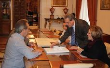 La Junta Pro Semana Santa de Zamora presenta al Ayuntamiento el proyecto del nuevo Museo