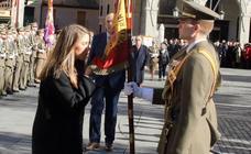Jura de Bandera en la Plaza Mayor de Segovia