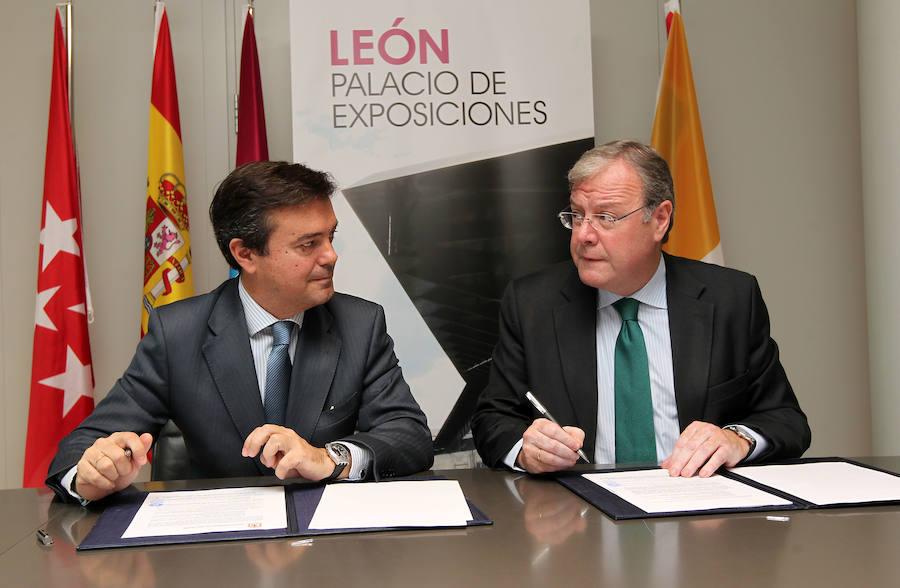 Ayuntamiento de León e Ifema firman un convenio para la gestión del Palacio de Exposiciones