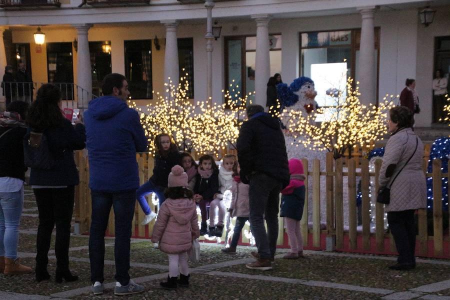 Rioseco se viste de Ciudad Europea de la Navidad
