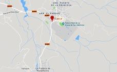 Ingresa en la UCI un motociclista de 36 años herido grave en una colisión en La Granja