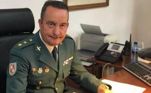 Jesús González Gómez asciende a teniente coronel de la Guardia Civil en Palencia