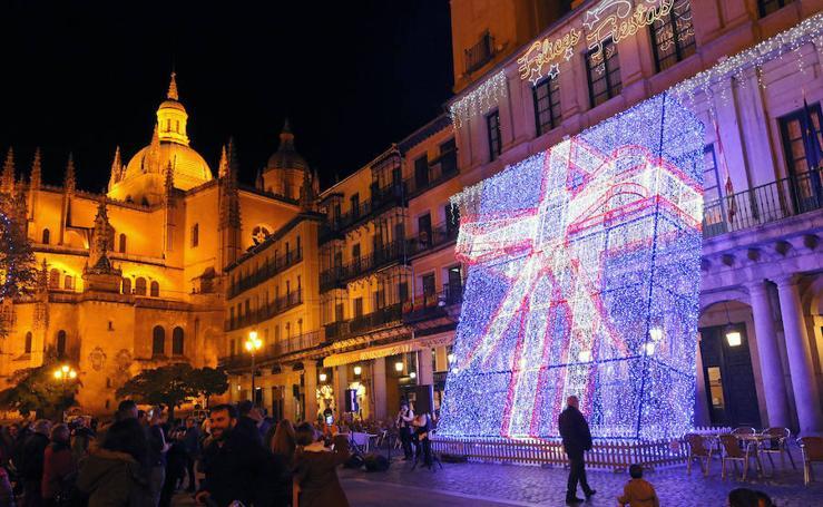 Encendido de la iluminación navideña