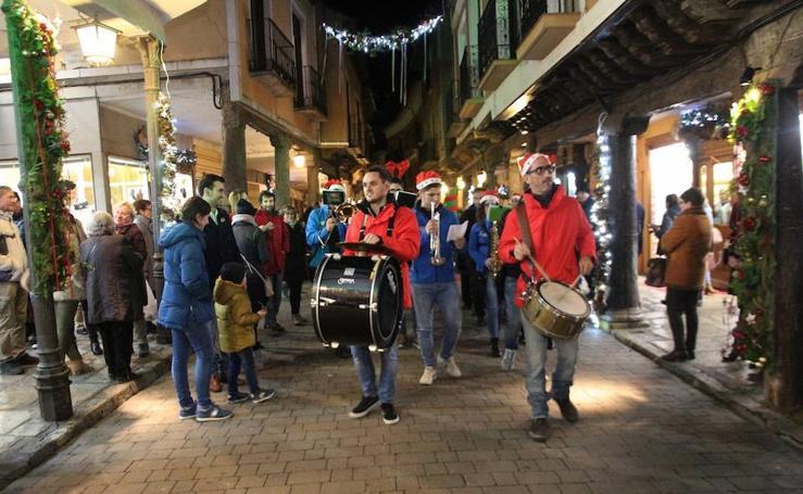 Encendido de las luces de Navidad en Medina de Rioseco