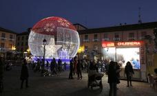 430 juegos de luces instalados en Palencia dan la bienvenida a la Navidad
