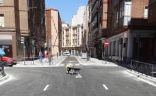 Unos trabajos de Aquavall provocarán el corte de la calle Nicolás Salmerón de Valladolid el viernes por la mañana