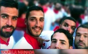 Una página web oferta en Pamplona una ruta turística por el 'Tour de la Manada'