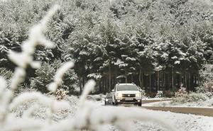 La DGT activa la alerta temporal por hielo y nieve en Candelario