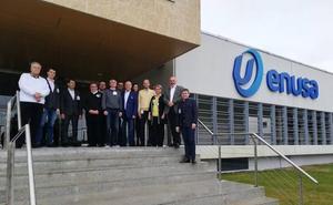 La empresa estatal rusa TVEL visita ENUSA para explorar colaboraciones