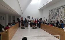 Centros educativos y Ayuntamiento homenajean a la Constitución en Santa Marta