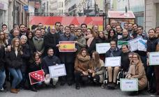 Acto homenaje de Nuevas Generaciones de Valladolid a la Constitución