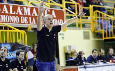 Zubillaga pasa revista al ecuador de La Antigua CB Tormes